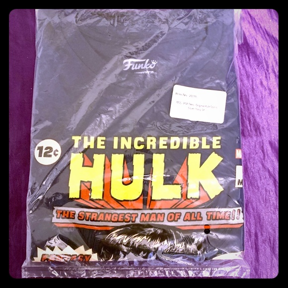 Marvel Other - Marvel/Funko Incredible Hulk T-shirt, 3XL NEW!